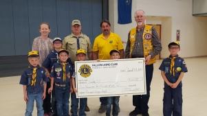 Cub Scout Donation 2