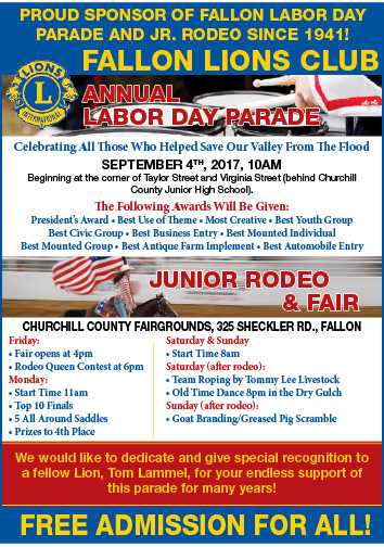 2017 Labor Day Parade AD